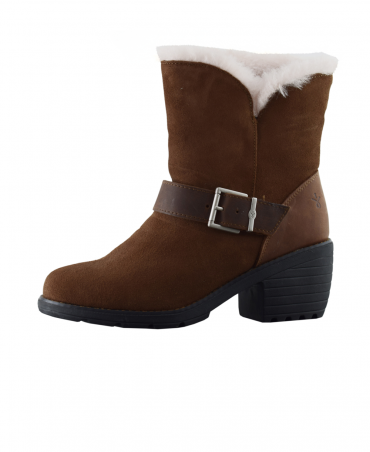 Brown Colebrook Suede Boot