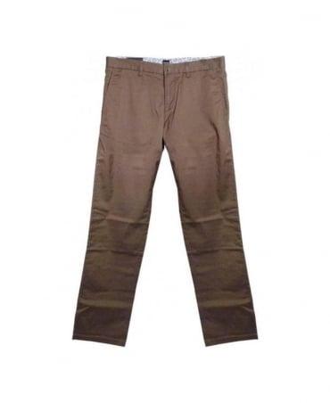 Hugo Boss Brown Crigan Regular Fit Trouser