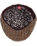 Oliver Sweeney Brown Lafite Wool Flat Cap