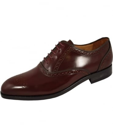 Paul Smith - Shoes Brown Leather 'Gilbert' Brogues