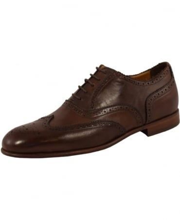 Paul Smith - Shoes Brown Leather 'Scott' Brogues