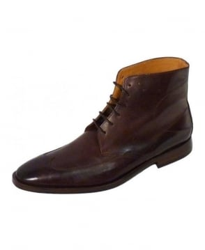 Oliver Sweeney Brown Meager Leather Boots