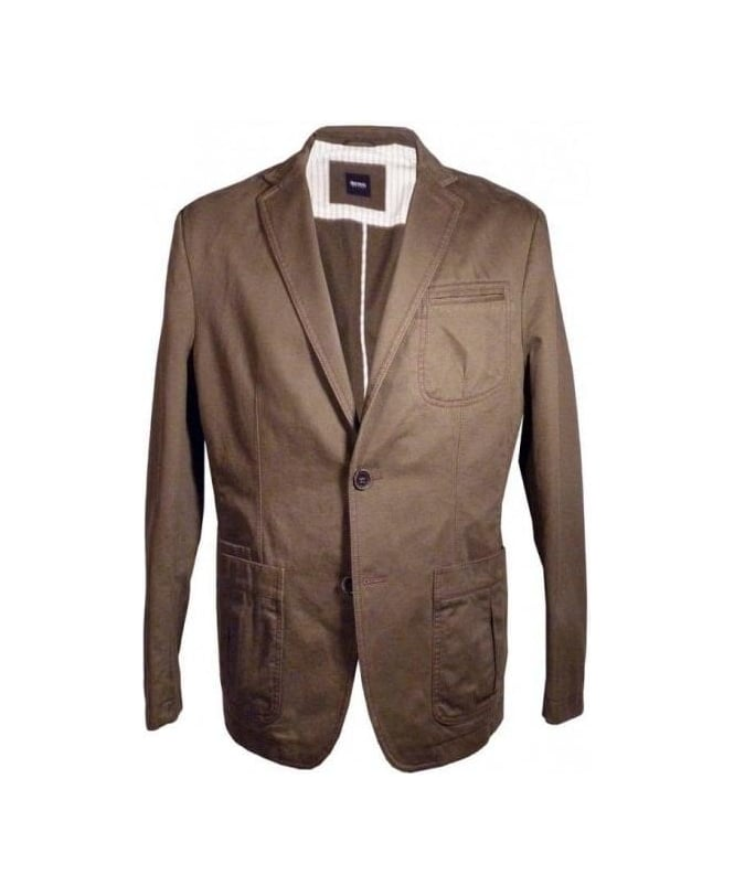 Hugo Boss Brown Milo2-W Jacket