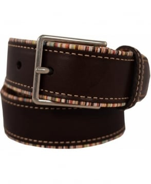 Paul Smith  Brown Multi Pipe ASXC/4800/B591A Belt