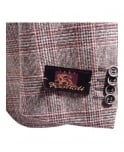 Acquaviva Brown & Red Check Jedosd Jacket