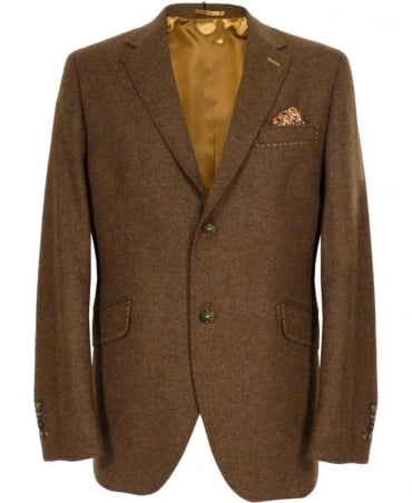 Holland Esquire Brown SB2 Two Button Classic Jacket
