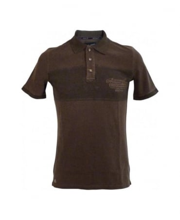 Armani Brown Slim Fit Polo