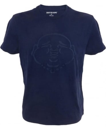 True Religion Buddha T-shirt In Navy