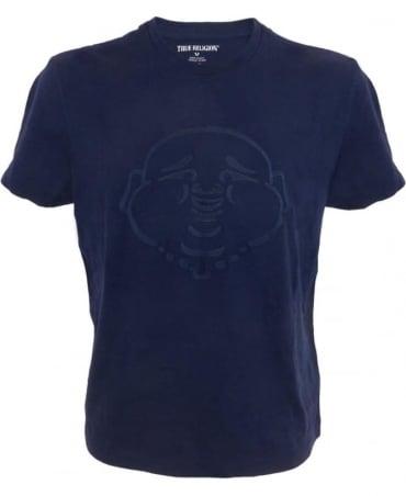 True Religion Buddha T-shirt In Navy