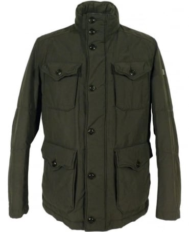 'C-Ole -W' Short Parka In Dark Green
