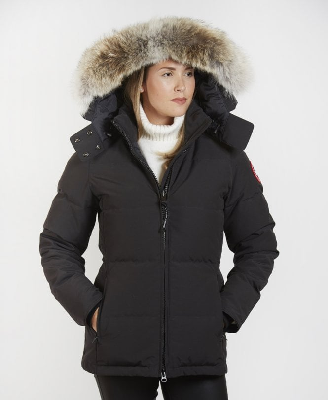 Canada Goose Black  Chelsea  Parka Coat - Outerwear from Jonathan ... 1770267471bb