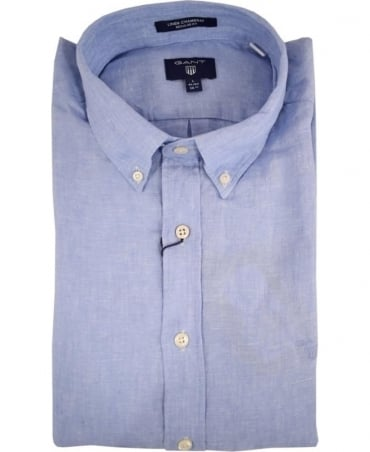 Capri Blue 320000 Linen Shirt