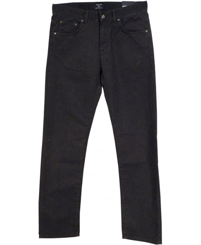 Gant Charcoal Grey 1001809 Tyler Twill Jeans