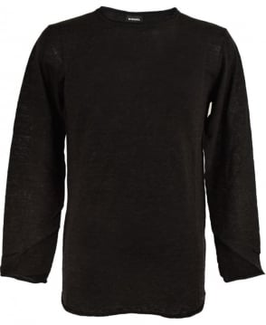 Diesel Charcoal Grey K-Tiger-A Knitwear