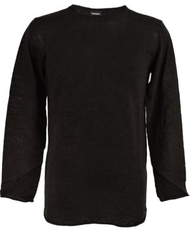 Charcoal Grey K-Tiger-A Knitwear