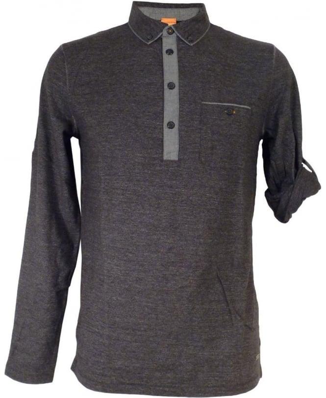 0725059c7 Boss Charcoal Grey 'Patcherman 1' Polo Shirt - Polos from Jonathan ...