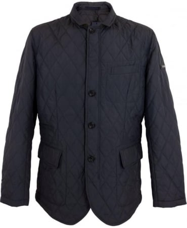 Hackett Charcoal Light padded Kinloch Blazer