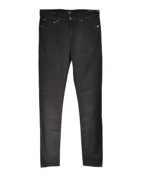 Gant Charcoal Soft Twill Straight Fit Jean