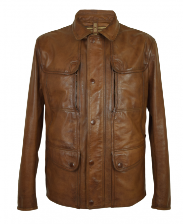 Matchless  Classic Brown Kensington Leather Jacket