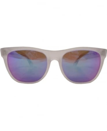 Classic Crystal Flash matte Sunglasses