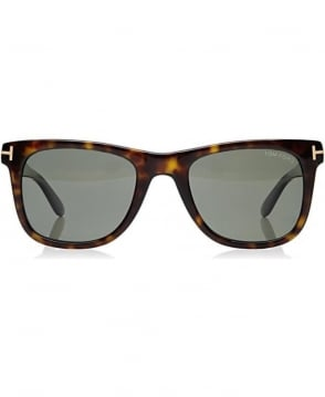 Tom Ford Classic Havana Leo Square Sunglasses