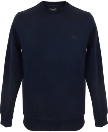Classic Jersey Sweatshirt In Navy