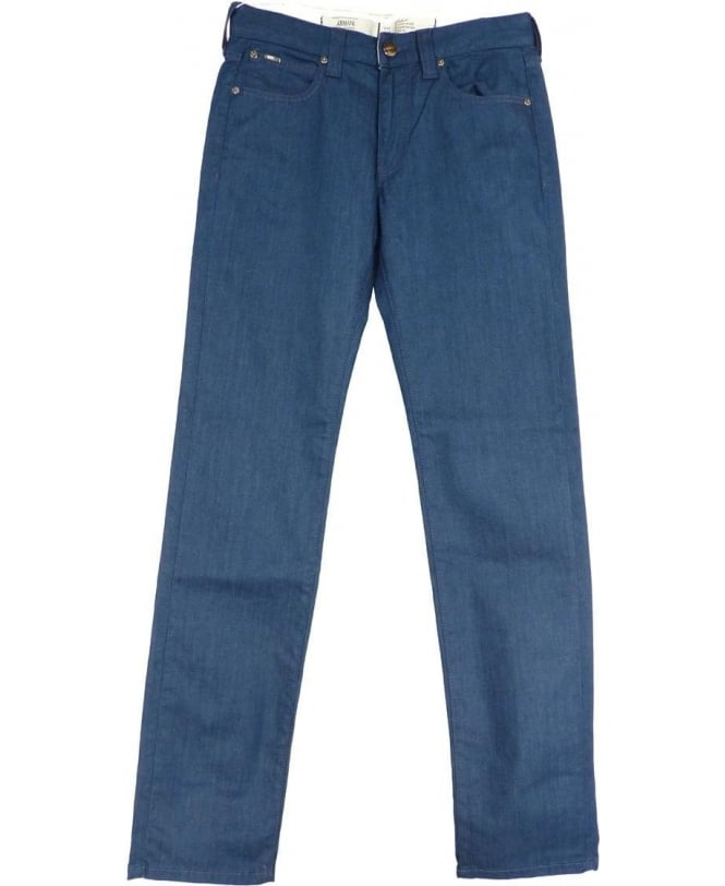 Armani Collezioni Collezioni Blue Stretch Denim J06 Slim Fit Jean