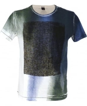 Replay Coloured Brush Strokes Design M6918 T/Shirt