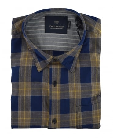 Scotch & Soda Combo B 139569 Brushed Cotton Shirt