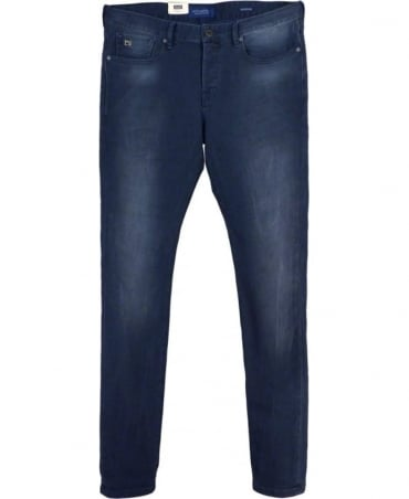 Scotch & Soda Concrete Blue Ralston 102284 Regular Slim Fit Jeans