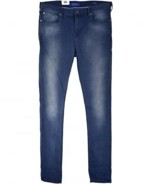 Scotch & Soda Concrete Blue Skim Skinny Fit Jeans