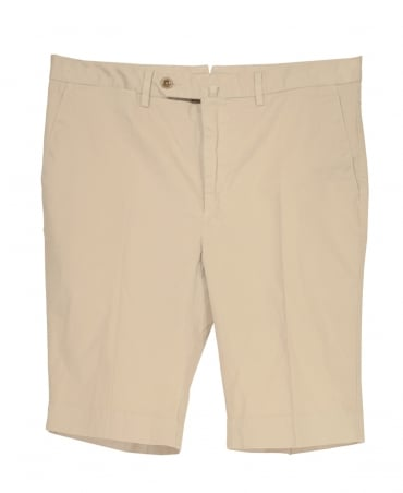 Hackett Core Stretch Shorts In Beige