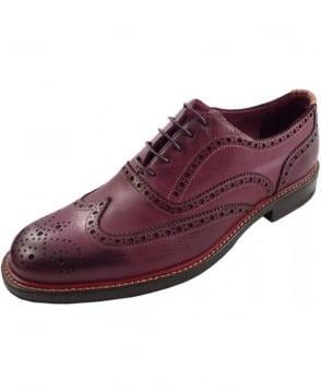 Paul Smith - Shoes Damson Plum SLXD/N136/WSH Knight Brogue Shoe
