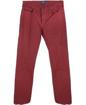 Paul Smith - Jeans Damson Red JLCJ/301M/414 Taper Jean