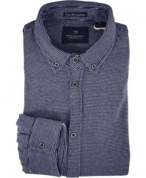 Scotch & Soda Dark Blue 136330 Pique Shirt