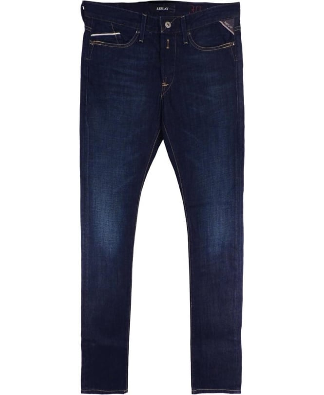 Replay Dark Blue 606602 'Waitom' Jeans
