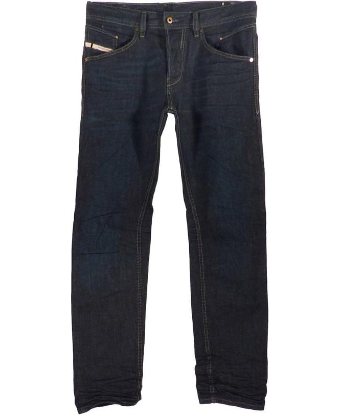 Diesel Dark Blue Belther 823K Slim Tapered Jeans