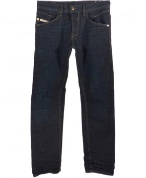 Diesel Dark Blue Belther 823K Slim Tapered Jeans