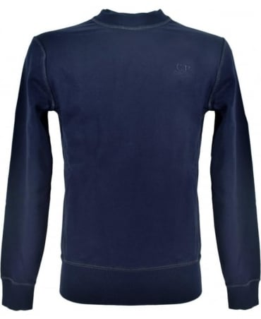 CP Company Dark Blue Crew Neck 0322300 Sweatshirt