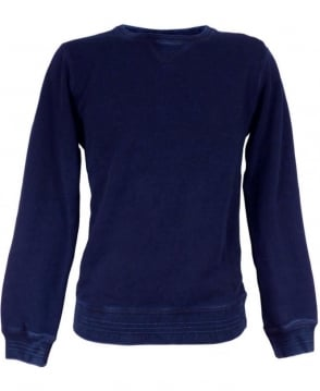 Scotch & Soda Dark Blue Crew Neck 40390 'Home Alone' Sweatshirt