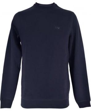 Armani Jeans Dark Blue Crew Neck 8N6M19 Sweatshirt