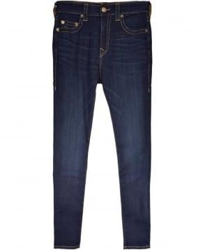 True Religion Dark Blue Dald DK Passage MDAAS827T Jack Super Stretch Jeans