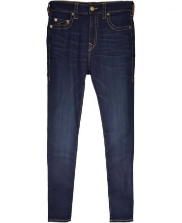 True Religion Dark Blue Dald DK Passage MDAAS827T Jack Super Stretch Jeans