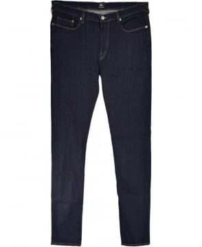 PS by Paul Smith Dark Blue Denim Tapered Fit Jeans