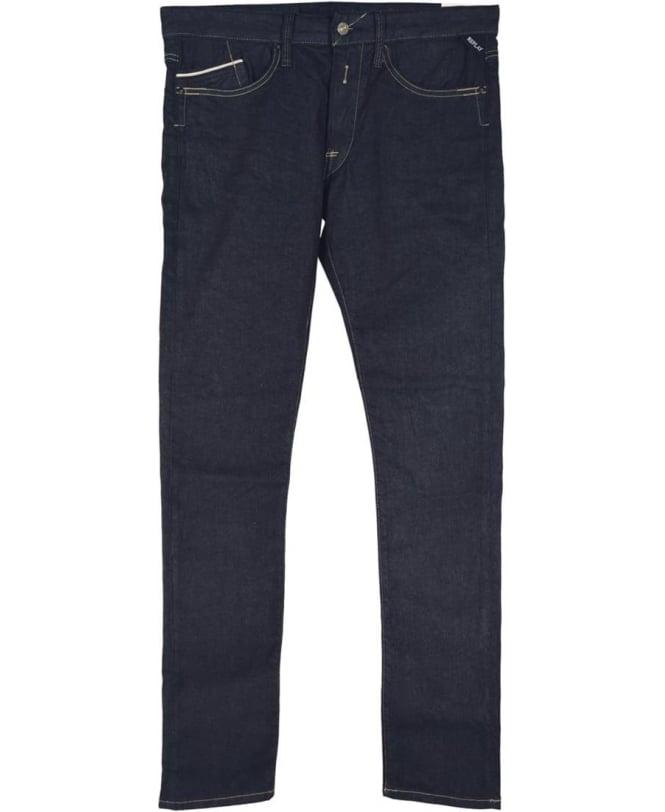 Replay Dark Blue 'Foreverdark' Waitom M983 Jeans