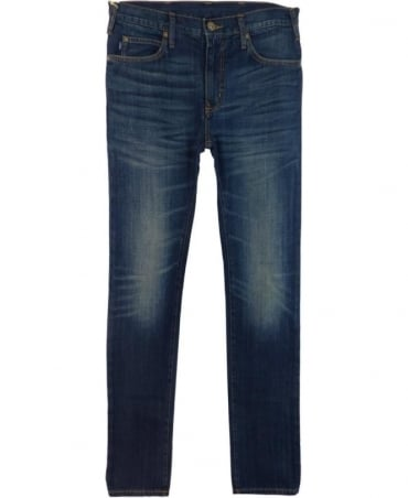 Armani Jeans Dark Blue 'J45' Slim Fit Jeans