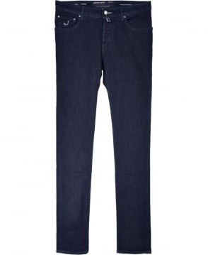 Jacob Cohen Dark Blue J622 COMF Fit Hand Made Jeans