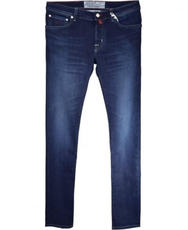 Dark Blue J622 COMF Fit Hand Made Jeans