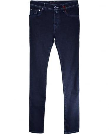 Jacob Cohen Dark Blue J622 Italian Handmade Jeans