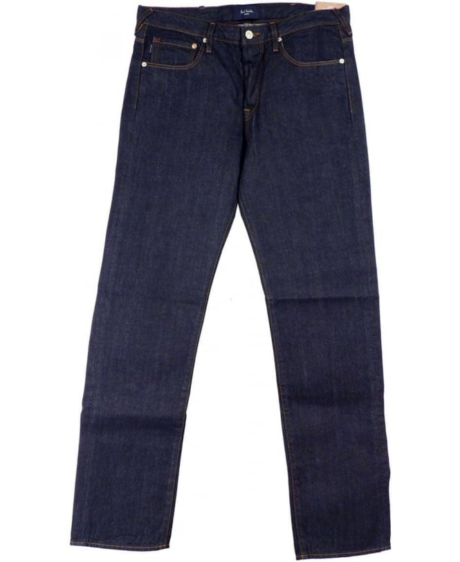 Paul Smith - Jeans Dark Blue JMFJ/400M/605 Button Fly Standard Fit Jeans